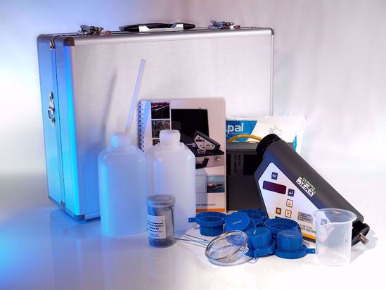 Laboratory-grade viscosity testing in fuel and lubricant oil.